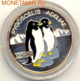2 пингвина (эмаль). Арт: 000043318920 (фото)