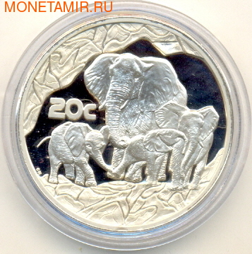 Слоны. Южная Африка 20 с 2002.