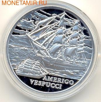 "Белоруссия 20 рублей 2010. Корабль ""Америго Веспуччи"" (голограмма). (фото)"