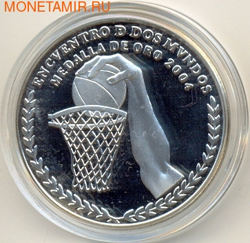 Аргентина 25 долларов 2007 Чемпионат Мира Баскетбол 2004. Арт: 000118740123 (фото)