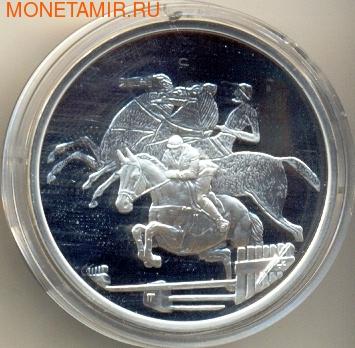 Греция 10 евро 2004. Олимпийские игры - Афины. Конный спорт (фото)