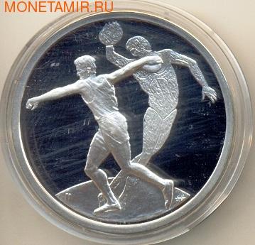 Греция 10 евро 2004. Олимпийские игры - Афины. Диск (фото)