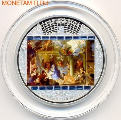 """Острова Кука 20 долларов 2011. """"Шедевры мирового искусства"""": """"Поклонения пастухов"""" (фото)"""