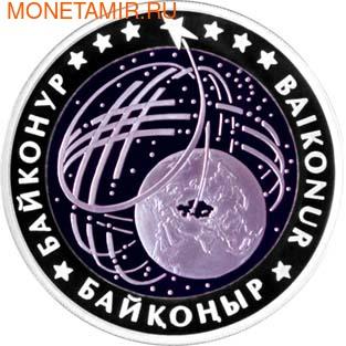 Казахстан 500 тенге 2012.Байконур (космос) - Достояние Республики.Арт.000220045111/60 (фото)