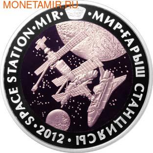 Казахстан 500 тенге 2012.Космос – Космическая станция Мир.Арт.000204840234/60 (фото)