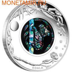 Австралия 1 доллар 2012.Коала - Опал. (фото)