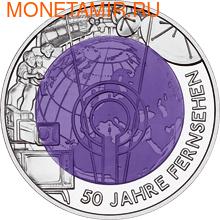 """Австрия 25 евро 2005. """"50 лет Телевидению"""". (фото)"""