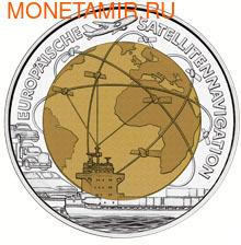 """Австрия 25 евро 2006. """"Европейская спутниковая навигация"""". (фото)"""