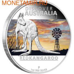 Австралия 1 доллар 2012. Кенгуру (фото)