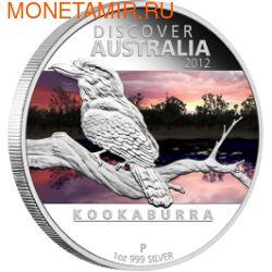 Австралия 1 доллар 2012. Кукабара (фото)