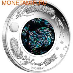 Австралия 1 доллар 2012.Вомбат - Опал.Арт.429541177 (фото)