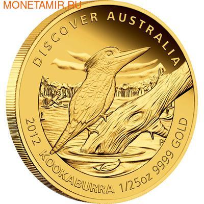 Австралия 5 долларов 2012.Золотая серия - Открой Австралию - Кукабара.Арт.60 (фото)