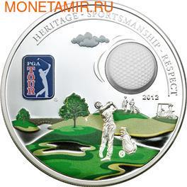 Острова Кука 5 долларов 2012.Гольф - PGA TOUR.Арт.000266240067/60
