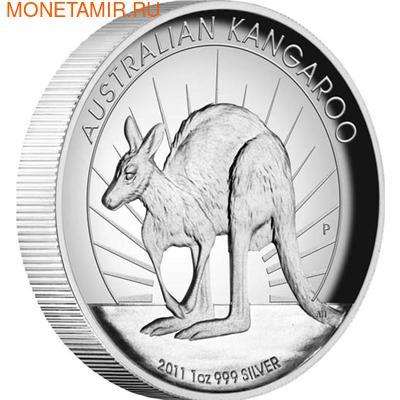 """Австралия 1 доллар 2011.""""Кенгуру""""."""