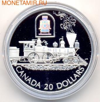 """Канада 20 долларов 2001. Паровоз """"Toronto"""". (фото)"""