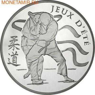 Франция 10 евро 2012. Дзюдо-Олимпийские игры (фото)