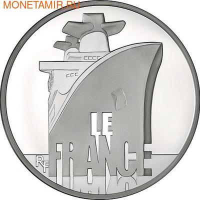 """Трансатлантический лайнер """"Франция""""-Великие корабли Франции (фото)"""