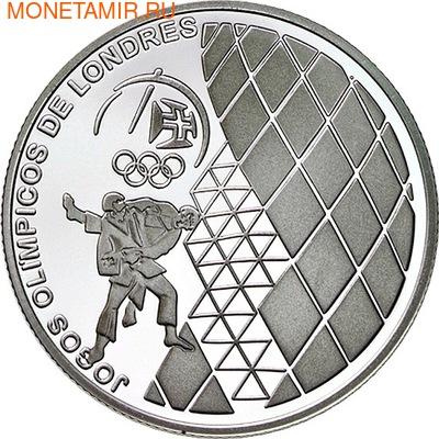 Португалия 2,5 евро 2012.Дзюдо - Олимпийские игры в Лондоне.Арт.000162040925/60 (фото)