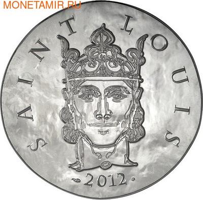 Франция 10 евро 2012. 1500 лет французской истории-Король Людовик IX Святой (фото)