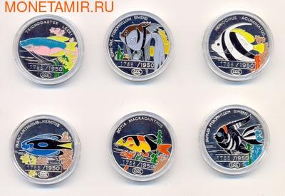 """Набор монет """"Рыбки"""". Арт: 000997639830 (фото)"""