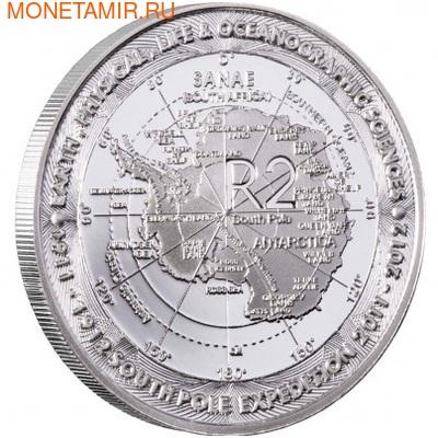 Южная Африка 2 ранда 2012 100 лет со дня открытия Южного полюса (South Africa 2R 2012 100 Years Discovery of the South Pole).Арт.000294741093/60 (фото)