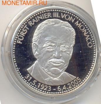 Сомали 250 шиллингов 2005.Князь Монако Ренье-III (Rainer-III von Monaco).Арт.177287/60 (фото)