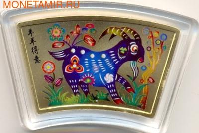 Серия лунный календарь-Год козы. (фото)