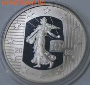 Франция 1 1/2 евро 2003. Сеятель (фото)