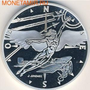 Франция 10 франков 2000. Икар в полете. (фото)