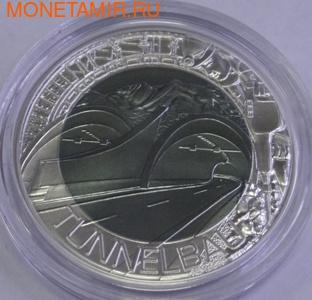 """Австрия 25 евро 2013.""""Прокладка тоннелей в Австрии"""". (фото)"""