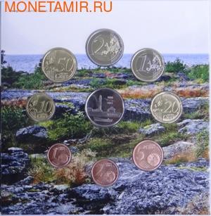 """Финляндия 3,88 евро 2013.""""Годовой набор евро"""" (фото)"""