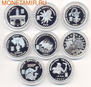 """Набор монет """"Французские колонии"""" (фото)"""