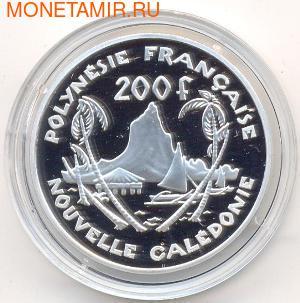 Французская Полинезия 200 франков 2002 Остров Муреа.Арт.000280042349