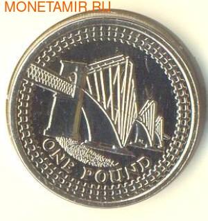 Великобритания 1 фунт 2004. Исследуя Ферт-оф-Форт . Четвертый мост. (фото)
