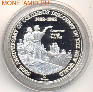 500-летие открытия Америки. Колумб, плавания под парусами. Арт: 000088140985 (фото)
