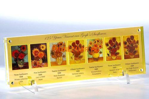 Ниуэ 5 долларов 2013 Подсолнухи Винсент ван Гог Набор 7 Монет (Niue 5$ 2013 Vincent van Gogh Sunflowers 125th Anniversary 7 Silver Coin Set).Арт.4313743217 (фото)