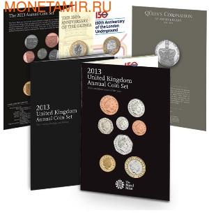 Великобритания Полный Годовой Набор 2013 (The 2013 UK Brilliant Uncirculated Annual Coin Set).Арт.60 (фото)