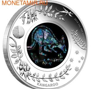 Австралия 1 доллар 2013.Кенгуру - Опал.Арт.000355142417 (фото)