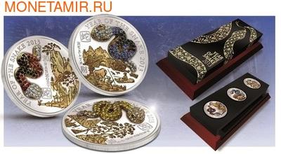 Набор монет- Год Змеи 3D. Арт: 001643743238 (фото)