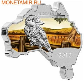 Материк. Кукабара. Австралия 1 доллар 2012. (фото)