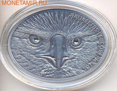 Белоголовый орлан. Фиджи 10долларов 2013. (фото)