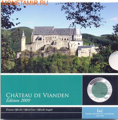 Люксембург 5 евро 2009 Замок Вианден Замки Люксембурга Ниобий (Luxemburg 5 Euro 2009 Castle Vianden BM Niob).Арт.000379651102/60