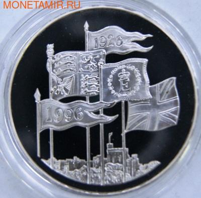 Великобритания 5 фунтов 1996.75 летие Елизаветы II.Арт.000052216478/60 (фото)