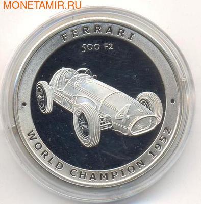Феррари 500 F2. Острова Кука 5 долларов 2005. (фото)