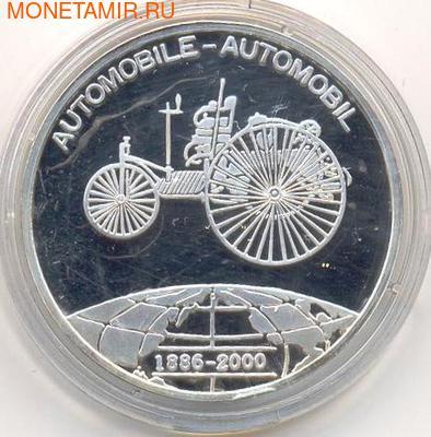 Первый автомобиль. Бенин 1000 франков 2000. (фото)