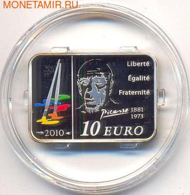 Франция 10 евро 2010. Пабло Пикассо. (фото)