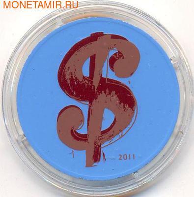 Франция 10 евро 2011. Энди Уорхол. (фото)