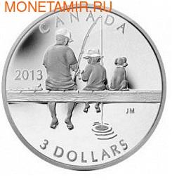 Канада 3 доллара 2013.Рыбалка.Арт.000118148247/60 (фото)