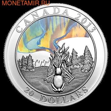 Канада 20 долларов 2013. Северное сияние. (фото)