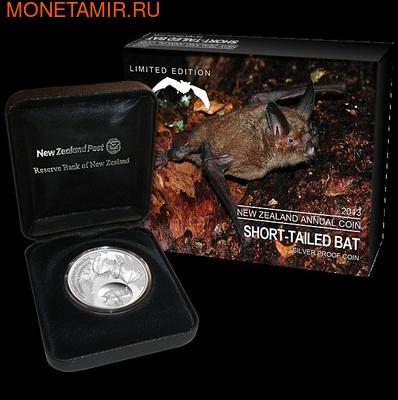 """Новая Зеландия 5 долларов 2013. """"Короткохвостая летучая мышь"""" (фото)"""